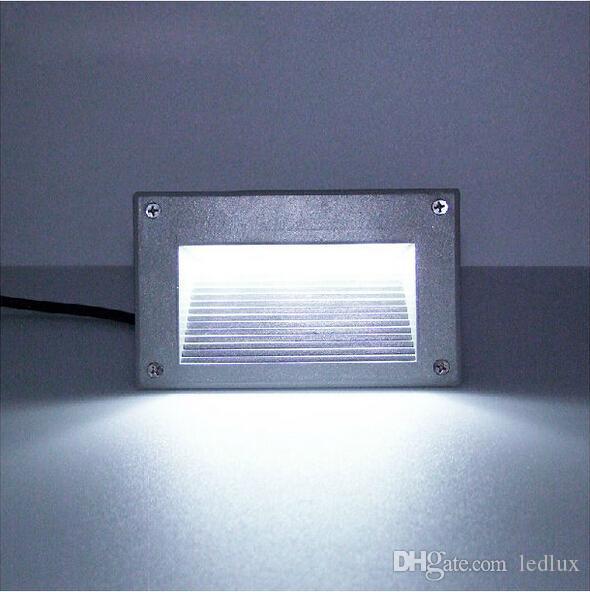 3x1W 3W 300LM AC85-265V / DC12V防水IP65暖かい白/白の埋め込み地面LEDデッキ地下ライトライト送料無料
