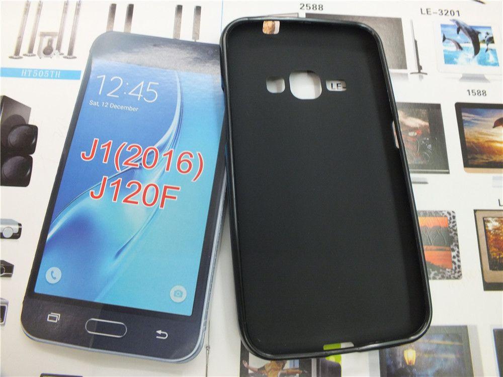 Doux givré TPU Retour Housse pour Samsung Glaxy J1 ACE / J110 J120 / J1 (2016) J710 / J7 (2016) J510 / J5 (2016) J1 Mini / J105