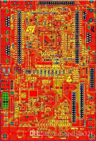 STM32F107 Ontwikkelingsbord Schematisch en PCB F107 STM32F107 STM32 DIY KIT PCB Board