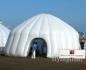 8m Lighting Inflatable Tent with light for Party and Promotion Show