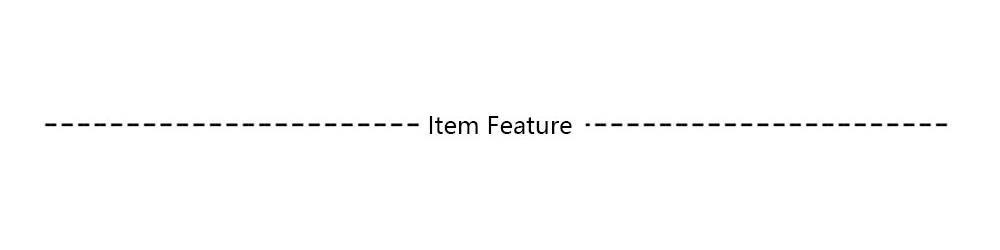 4. Item Feature