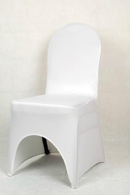 ¡Venta caliente! 5pcs Fashion Flowen Elasticity Silla blanca Cubiertas Cubiertas de asiento de la reunión de boda (003398)