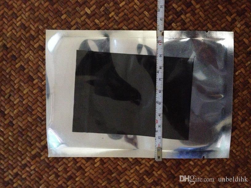 Darmowa Wysyłka 100 sztuk / partia 11 * 16 cm Heat Seal Torby Wouch Pół Folia Aluminiowa Vacua Torby elektroniczne Torby do żywności
