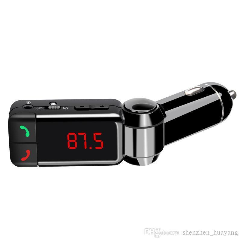 BC06 شاحن سيارة بلوتوث BT شاحن سيارة MP3 BC06 مشغل MP3 MP4 ميني ثنائي المنافذ AUX FM مرسل