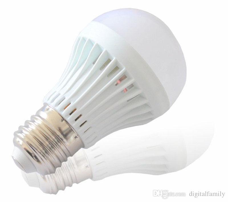 Big discount 3W 5W 7W 9W LED bulbs LED Globe Light Energy Saving Ac85-265V E27 Dimmable led lamp3 years warranty 5730 5630 led lights