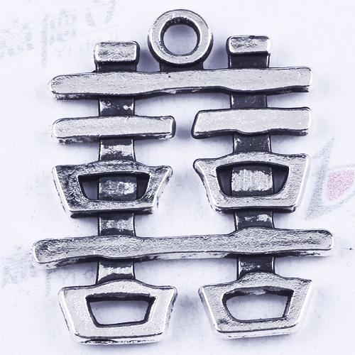 New fashion silver/copper Manufacture DIY jewelry pendant Single hanging hi words pendant fit Necklace or Bracelets charm 300pcs/lot 2826y