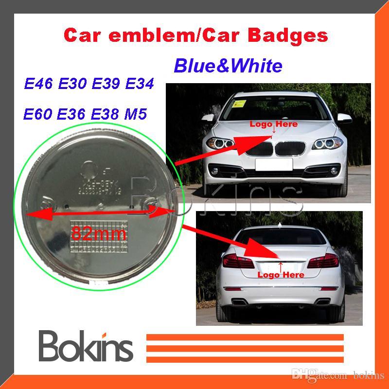 Pleine fibre de carbone Capot Avant Arrière Badge Coffre emblèmes BMW E36 E60 E38 E30 Z3