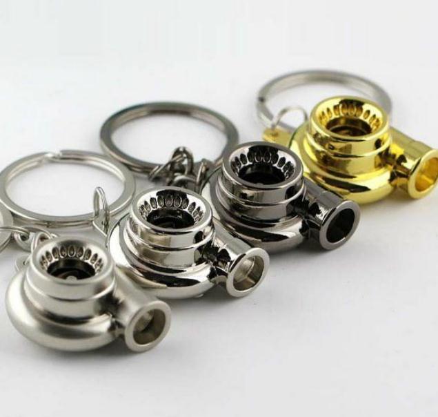 Schlüsselanhänger Kreative personalisierte Auto modifizierte Turbolader Metall Schlüsselanhänger