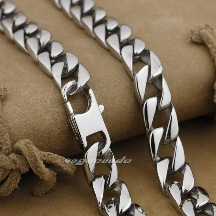 2021 18 36 316l Stainless Steel Mens Necklace Diamond Curb Cuban Chain 5a002n From Shunwangdh 30 16 Dhgate Com