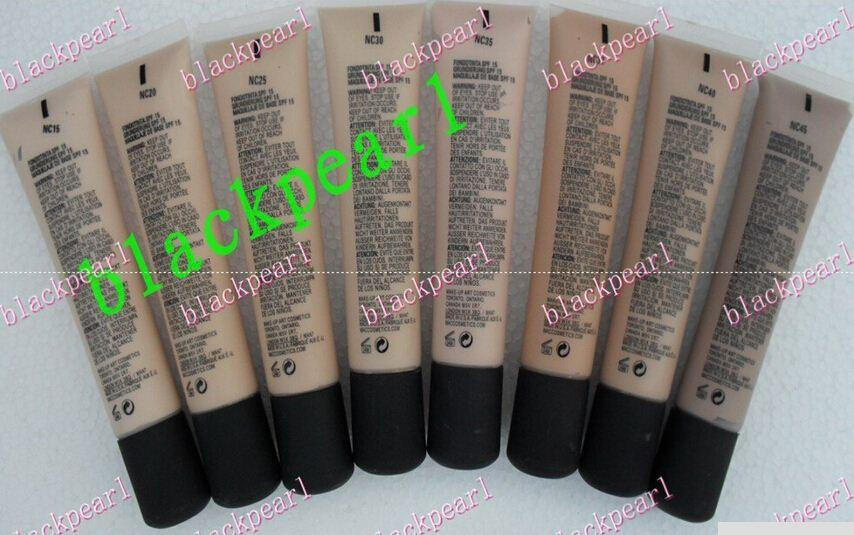 MAQUILLAGE D'EXPÉDITION GRATUIT SPF 15 FOUNDTION FON DE TEINT 40ML (12 pcs / lot) + cadeau