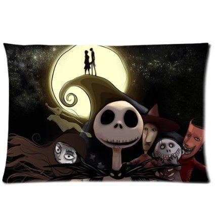 Nightmare Before Christmas Pillowcase Standard Size 20x30 Design