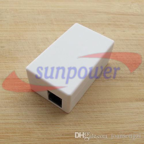 5 sztuk / partia, Mini Telefon Telefon Recorder Box Support TF Micro SD Card Nie potrzebuje zasilania Charing na linii telefonicznej
