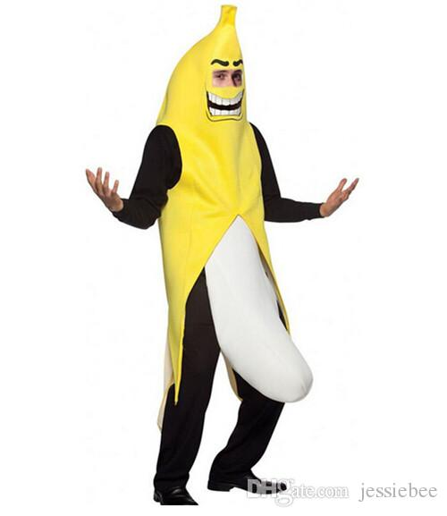... Funny Banana Cosplay Costumes Halloween Stage Outfits Adult Unisex Carnival Theme Costume New Festival Performers Wear ...  sc 1 st  DHgate.com & Funny Banana Cosplay Costumes Halloween Stage Outfits Adult Unisex ...