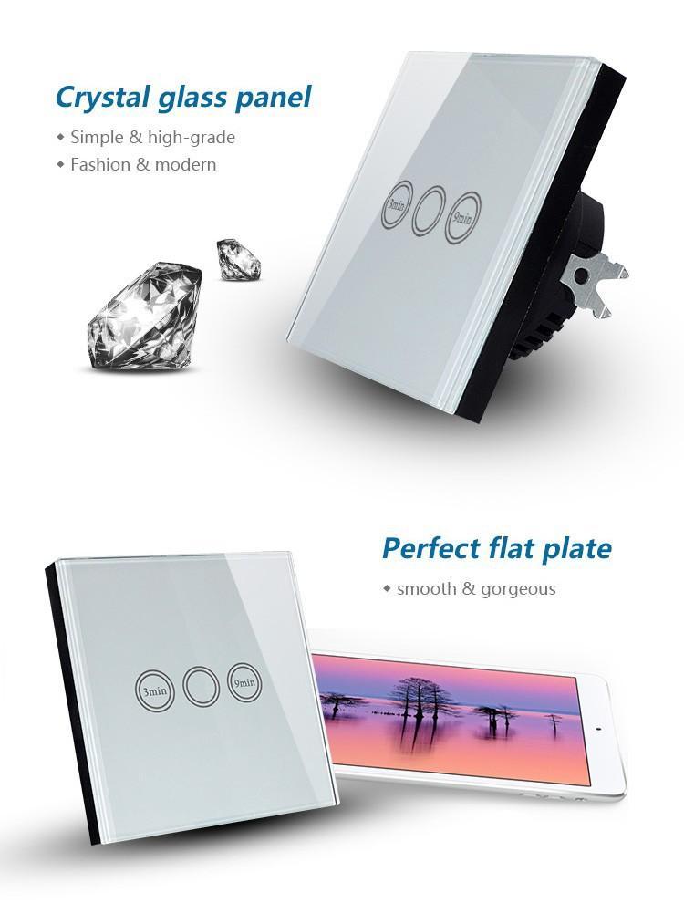 Großhandel Eu Modell Drahtlose Fernbedienung Glasplatte Licht ...