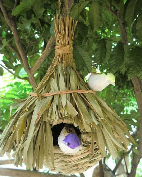 Garden Decoration Rattan Bird Cages Bird Feeder Decorative Cages Jaula Parrot Cage Bird Pet Supplies Large Decorative Bird Cages For Sale Large