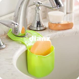 Moda Hot Sponge Storage Rack Cesto de lavado Paño Tapón Estante Estante Organizador Gadgets Accesorios Suministros Productos