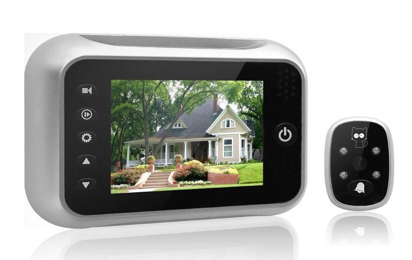 "3.5"" LCD Screen TFT Visual Monitor Digital Door Bell Doorbell Peephole Viewer"