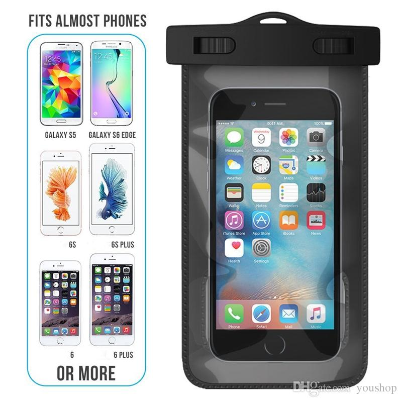 Waterproof Case Universal Waterproof Bag Pouch For Iphone 6 6s Plus For Galaxy S7 S6 S6 Edge Best Phone Cases Buy Cell Phones From Youshop 1 66 Dhgate Com