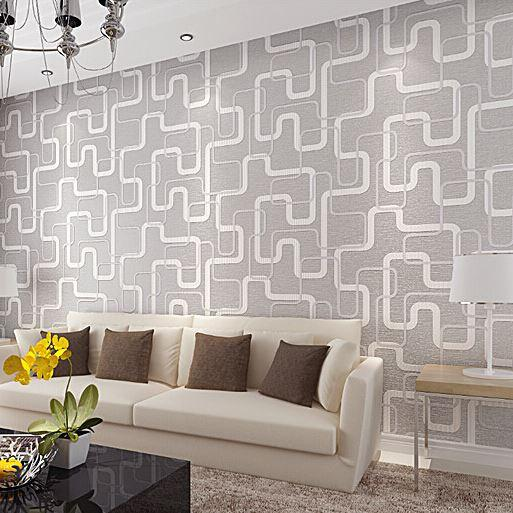 Acquista 3d Wallpaper Design Geometrico Semplice Rivestimento Murale ...
