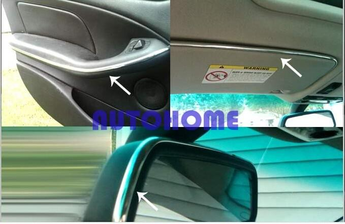 Chrome Moulding Trim Strip Car Interior Exterior Grill Door Window Decorated DIY (4)