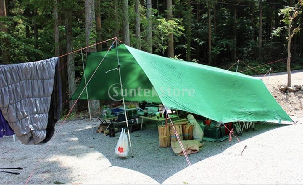 Atacado-New Arrivals 2015 MagiDeal Fluorescente Reflective Guy Line Tenda Dossel Camping Corda 50M Vermelho Frete Grátis
