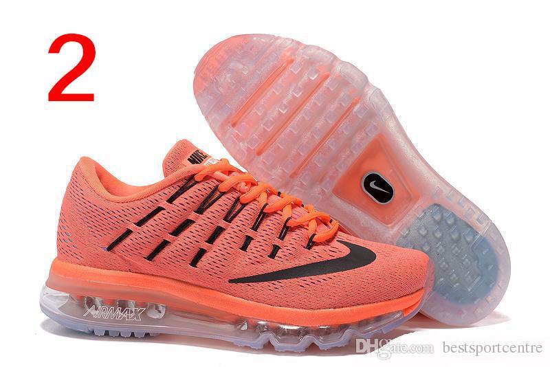 Großhandel Nike Air Max 2016 Gs Frauen Laufschuh Schwarz Pink Pow Volt Reflektieren Silber, Erstausstrahlung Maxes Airmax 2016 Für Frauen