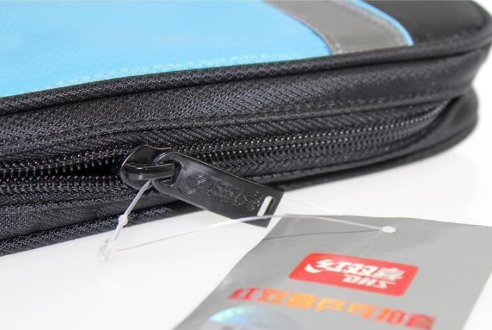 DHS RC107 RC108 square Oxford cloth table tennis Racket Cover Single set double happiness ping pong bag