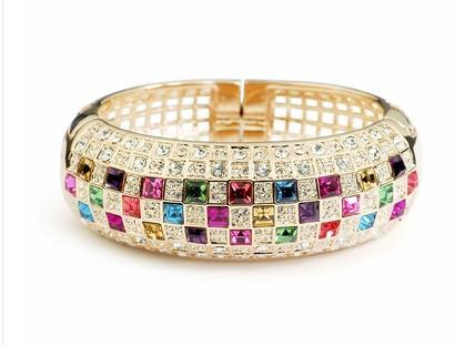Bracelet de dame diamnd creux coloré (xysppfh)