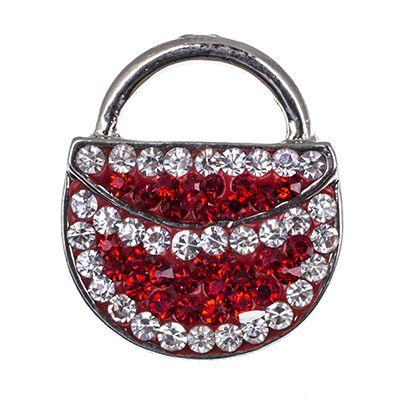 NSB2158 Sıcak Satış Yapış Düğmeler Takı Moda Lady Çanta Snaps DIY Charms Kristal Snaps Gümüş Metal Düğmeler