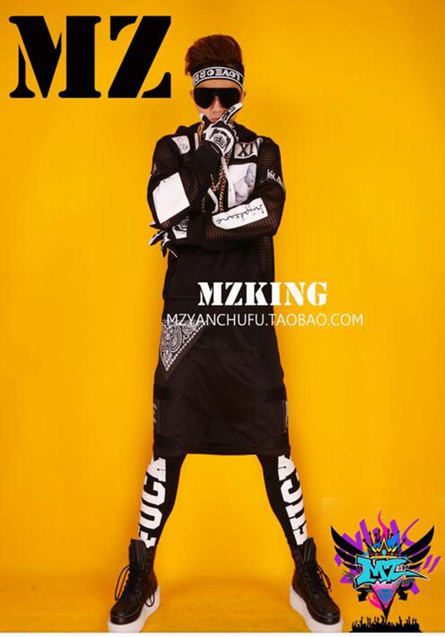 المغني الذكور هان طبعة الأندية في أوروبا وأيقونة غطاء الرأس شبكة مدرج أسود مجموعة ازياء الهيب هوب. S - 6 xl