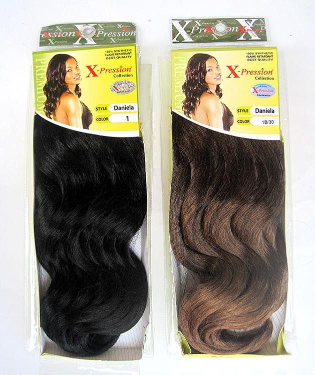 2019 Synthetic Hair Weaving Daniela Hair