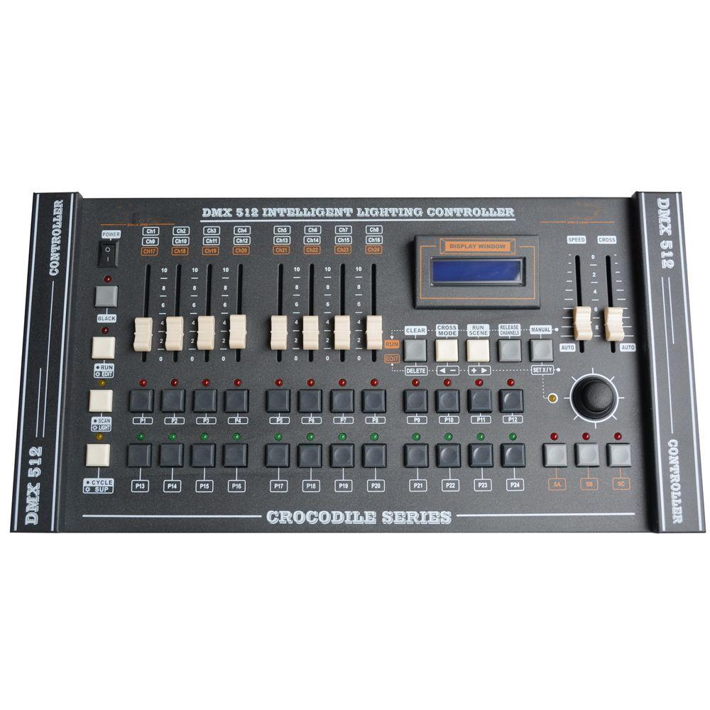 Controlador Dmx de la consola DMX 504 canales con equipo de luz de escenario con joystick para controlar la luz de cabeza móvil con luz par
