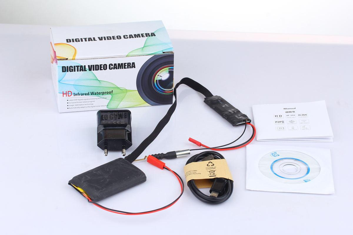 K7 Latest Wireless WIFI Spy Camera Module Board Camcorder IP P2P ...