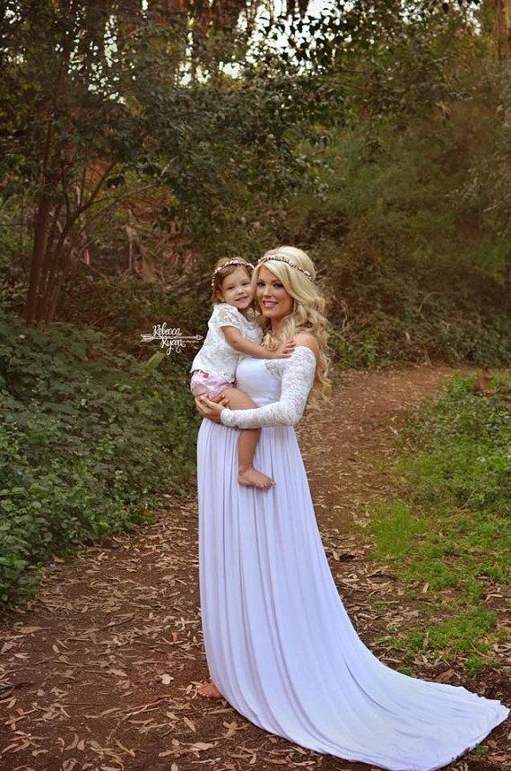 Discount Long Sleeve Maternity Wedding Dresses For Pregnant Women ...