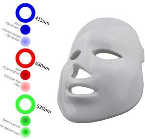 새로운 LED 피부 회춘 아름다움은 LED 마스크 광선 치료 피부 마스크 PDT Masklight 치료 + 진동 + 동