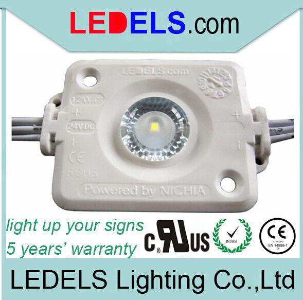 1.2W 24v 120lm Osram / Nichia высокой мощности подсветка 24v UL сертифицированный модуль 24v светодиодный впрыск