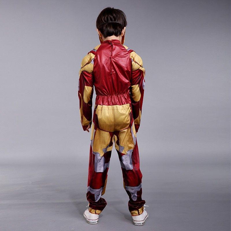 ... 2015 NEW Iron Man Mark 42 / Patriot Muscle Child Kids clothing Halloween Costume Fantasia Avengers ... & 2018 2015 New Iron Man Mark 42 / Patriot Muscle Child Kids Clothing ...