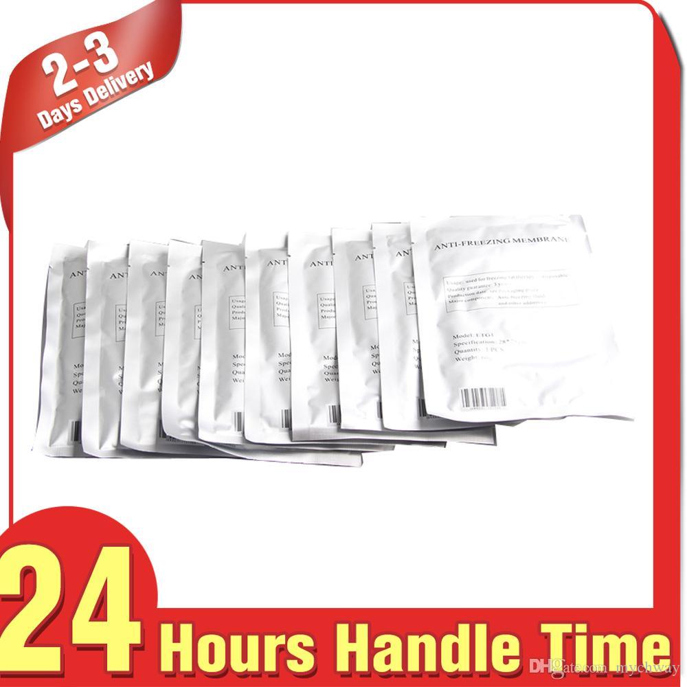 Preço de fábrica 10pcs Membranas anticongelantes membranas resfriamento corporal emagrecimento máquina Use Anti congelamento Folha membranas Congelar