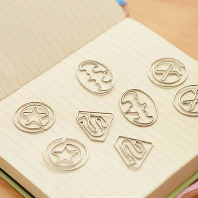 2016 Unique Design Fashion Clamp Children Bookmark Paper Clip ...