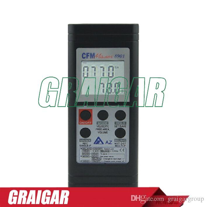 AZ8901 Digital Anemometer wind speed meter digital lcd display wind speed,8901 Handheld RS232 Output Anemometer