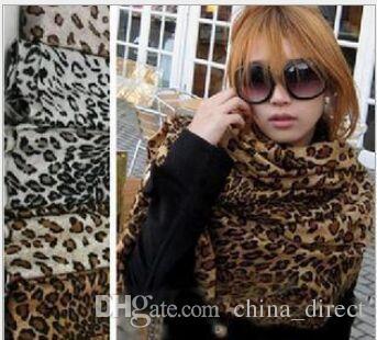 # 1 Animal Print Scarves Scarf Leopard Print Ponchos Wraps Scarves Shawl 10st / Lot