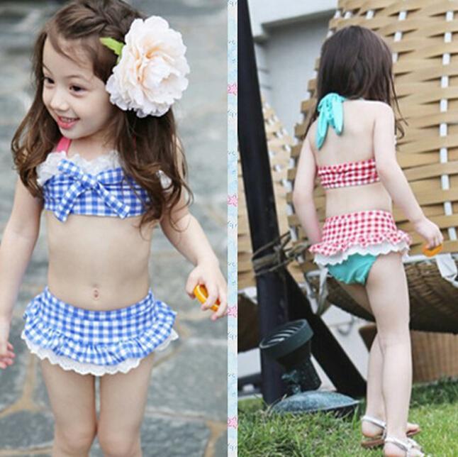 UK Kid Baby Girls Ruffle Fashion Swimwear Swimsuit Bathing Suit Bikini Beachwear
