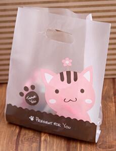Бесплатная доставка Оптовая прекрасный кот точка сумочка мешок конфет подарок упаковка мешок партии подарки пакет украшения сувениры питания