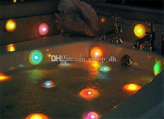 i led che cambia luce vasca luce spa impermeabile led spa luce ufo ... - Luce Vasca Da Bagno