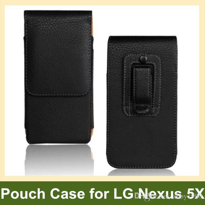 Custodia a flip verticale in pelle per PU per LG Nexus 5X H791 H790