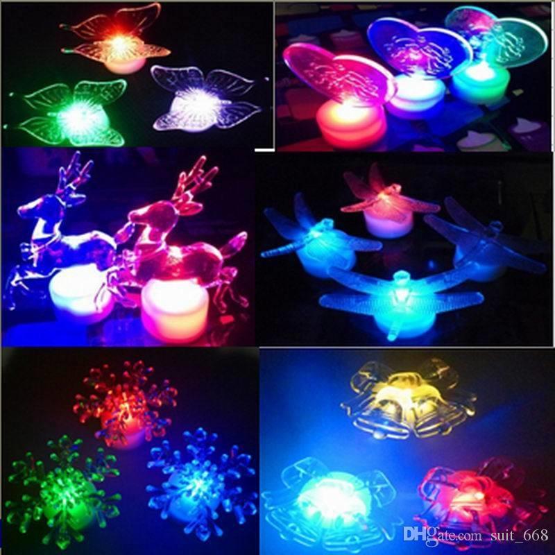Marry LED electronic flash light emitting led candle holiday candle lighting Nightlight night market selling smoking