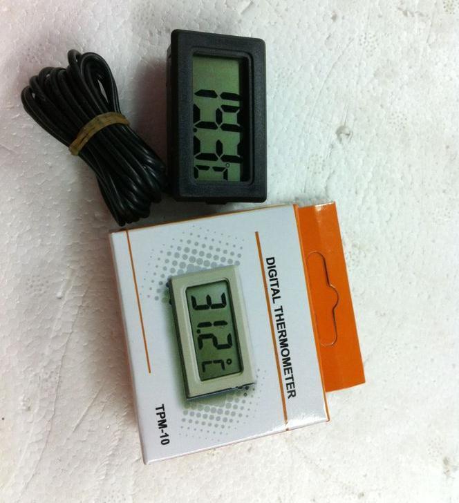 Termómetro LCD de alta calidad al por mayor del refrigerador Lots300 para la exhibición digital del congelador del refrigerador