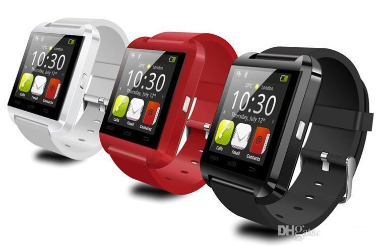 wholesale Smart Watch U8 Bluetooth Altimeter Anti-lost 1.5 inch Wrist Watch U Watch For Smartphones DHL free shipping