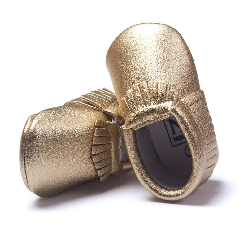 baby boy gold shoes