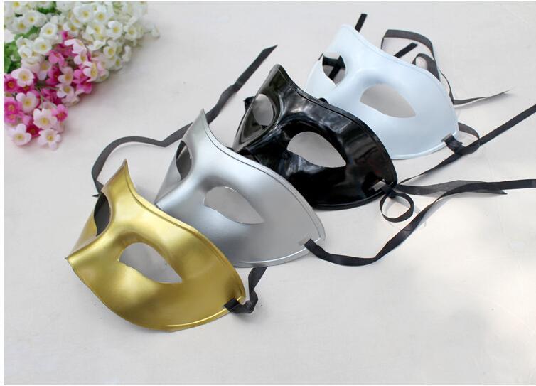 Mardi Gras Masquerade Kobiety i Mężczyźni Masquerade Maska Party Costume Christmas Halloween Maska Multi-Color (czarny, biały, złoty, srebrny)